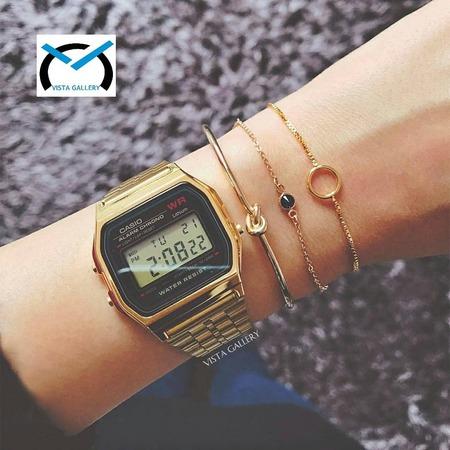 ساعت کاسیو casio مدل a159w gold