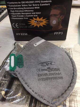 ماسک 6 لایه فیلتر دار spc وارداتی N95