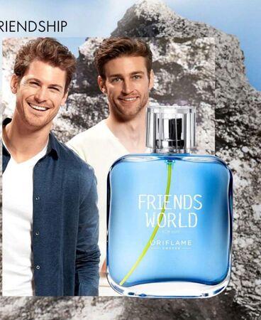 ادوتویلت مردانه friends world