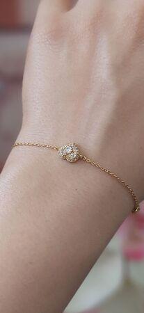 دستبند ظریف clio طرح قلب