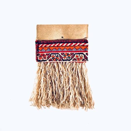 کیف چرم کبریتی کلاچ K4