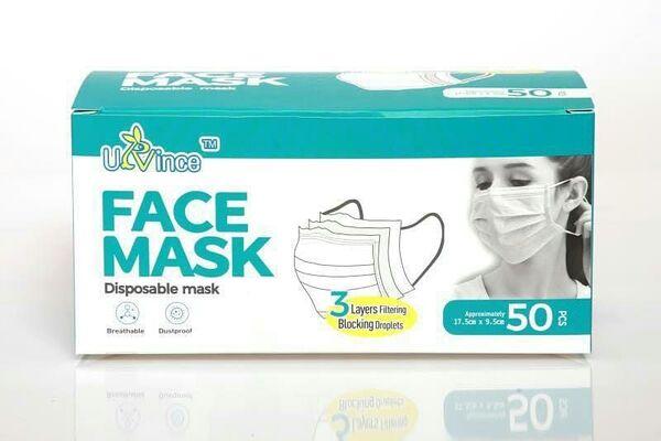 ماسک سه لایه 50 عددی ulvince