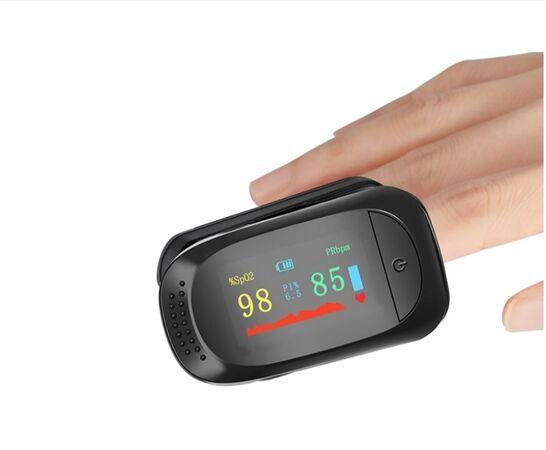 پالس اکسیمتر مدل A2 رنگ مشکی با باتری
