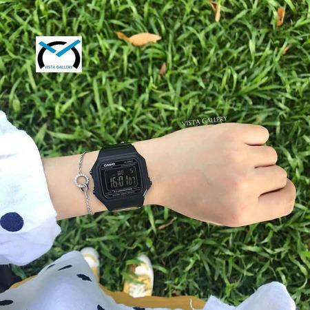ساعت کاسیو casio وینتیج مدل B650 black