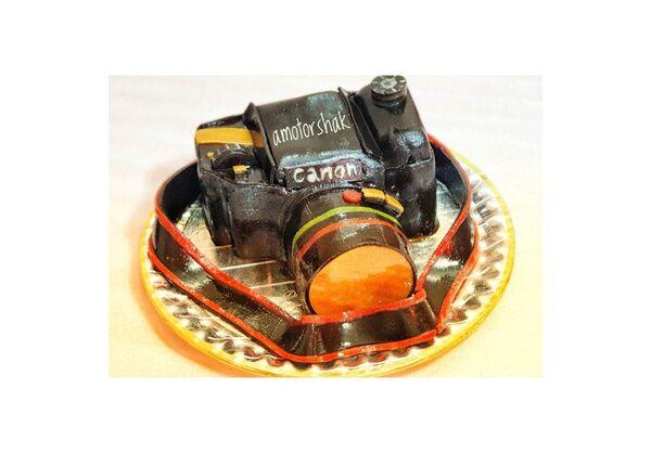 کیک لواشکی دوربین