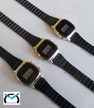 ساعت کاسیو casio مدل La670 blackgold