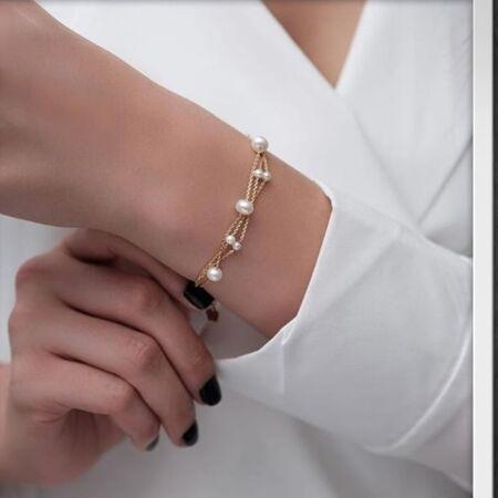 دستبند مرواریدی