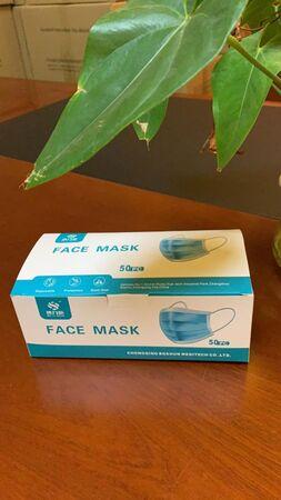 ماسک سه لایه 50 عددی وارداتی face mask