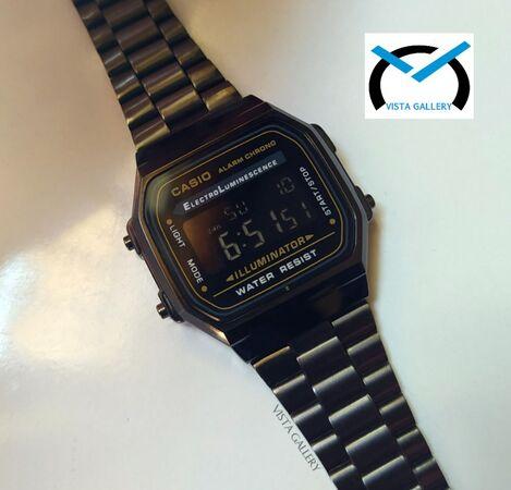 ساعت کاسیو casio وینتیج مدل a168w gray