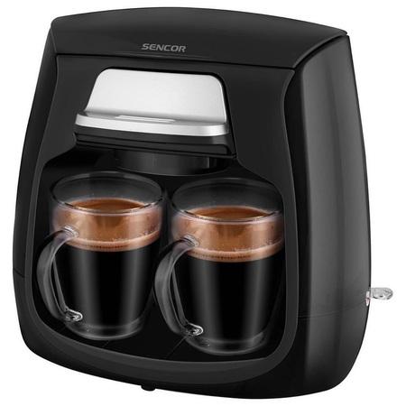 قهوه ساز برقی دوقلو سنکور